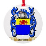 Markham Round Ornament