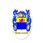 Markham Oval Car Magnet