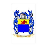 Markham Sticker (Rectangle 50 pk)