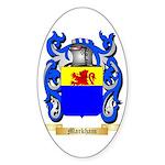 Markham Sticker (Oval)