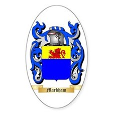 Markham Sticker (Oval)