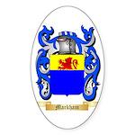 Markham Sticker (Oval 50 pk)
