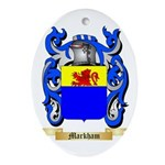 Markham Ornament (Oval)