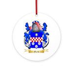 Mark Ornament (Round)