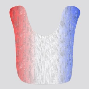 Red White and Blue Stripe Bib
