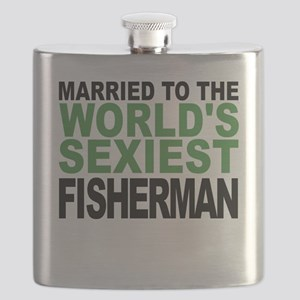 Married To The Worlds Sexiest Fisherman Flask