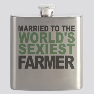 Married To The Worlds Sexiest Farmer Flask