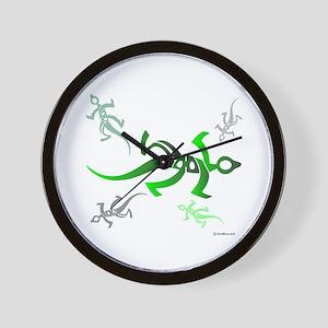 Marmoulakha Persian Lizards Wall Clock