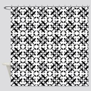 Flying Quarter Turn C15 Shower Curtain