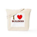 Bulldog gifts for women Tote Bag