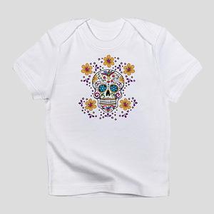 Sugar Skull WHITE Infant T-Shirt