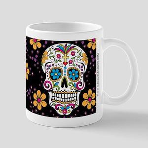 Dead Sugar Skull, Halloween Mug