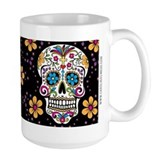 Day of the dead Large Mugs (15 oz)