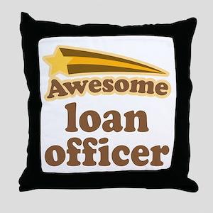 Loan Officer Throw Pillow