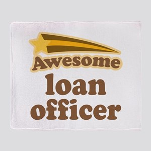 Loan Officer Throw Blanket