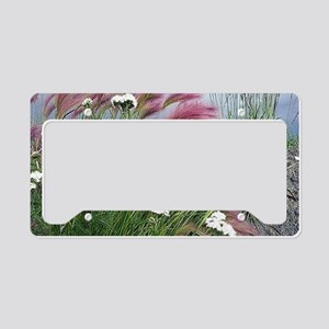Lavender Delight License Plate Holder