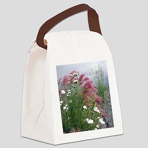 Lavender Delight Canvas Lunch Bag