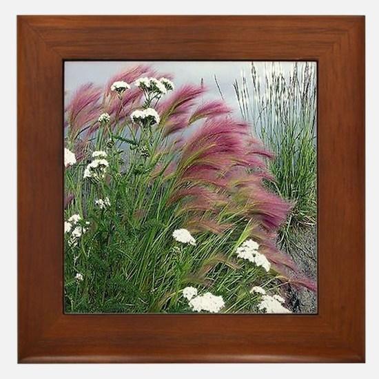 Lavender Delight Framed Tile