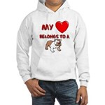 Bulldog gifts for women Hooded Sweatshirt