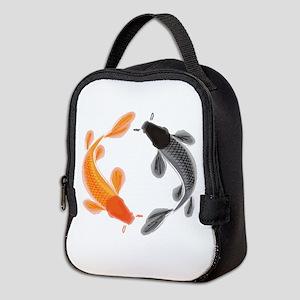 Japanese Koi Neoprene Lunch Bag