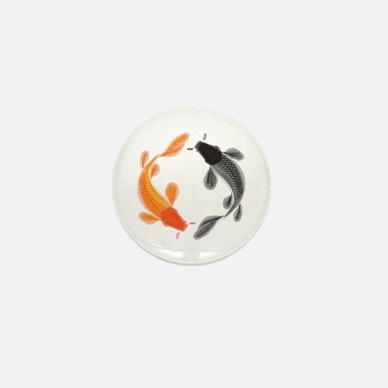 Japanese Koi Mini Button