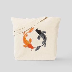 Japanese Koi Tote Bag