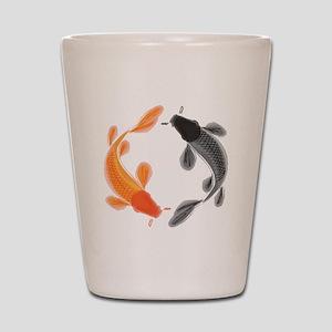 Japanese Koi Shot Glass
