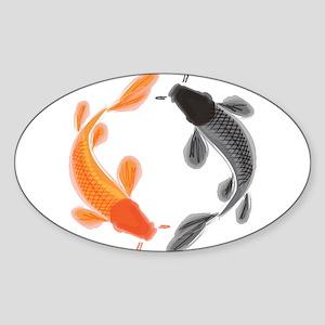 Japanese Koi Sticker