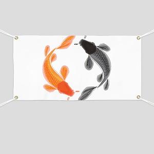 Japanese Koi Banner
