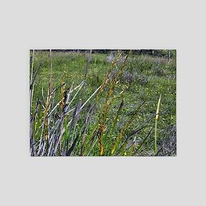 Field Of Wild Grass 5'x7'Area Rug