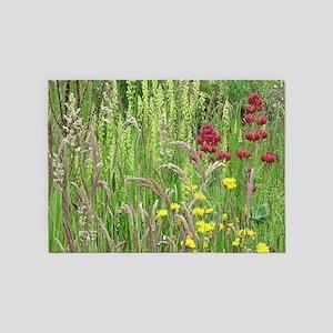 Spring Wild Grass 5'x7'Area Rug
