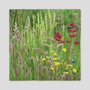 Spring Wild Grass Queen Duvet