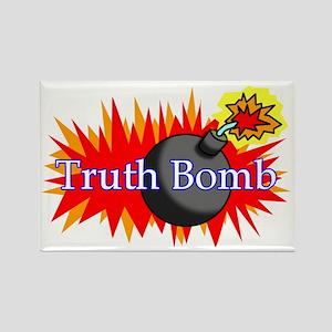 Truth Bomb (mug) Rectangle Magnet