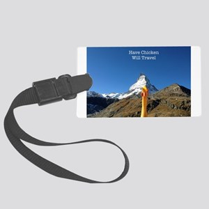 Matterhorn Background Luggage Tag