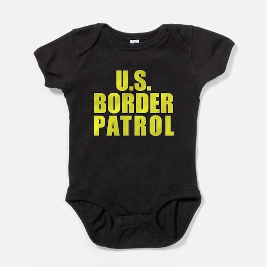 Cute Border patrol Baby Bodysuit