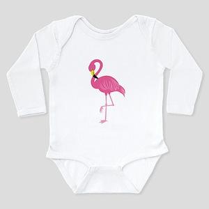 Pink Flamingo Body Suit