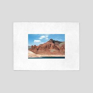 Lake Powell, Glen Canyon, Arizona, 5'x7'Area Rug