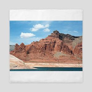 Lake Powell, Glen Canyon, Arizona, USA Queen Duvet