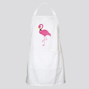 Pink Flamingo Apron