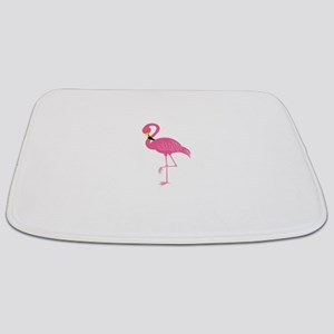 Pink Flamingo Bathmat