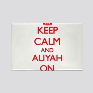 Keep Calm and Aliyah ON Magnets