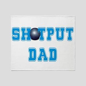 Shot Put Dad Throw Blanket