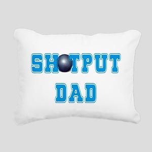 Shot Put Dad Rectangular Canvas Pillow