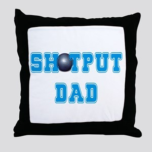 Shot Put Dad Throw Pillow