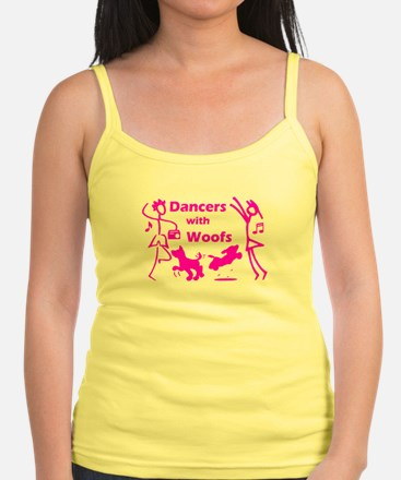 Dancers With Woofs Jr.Spaghetti Strap