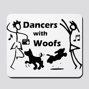 Dancers With Woofs Mousepad