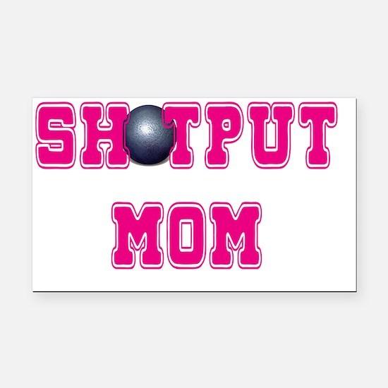 Shotput Mom Rectangle Car Magnet