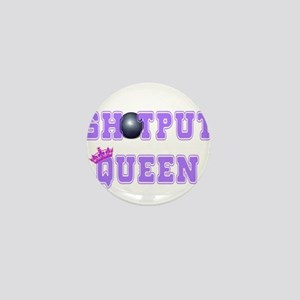 Shotput Queen Mini Button