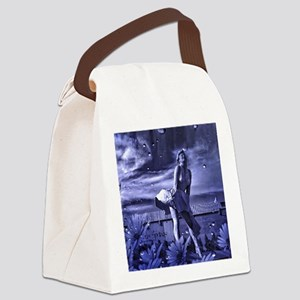 Marilyn Monroe in Palm Springs Canvas Lunch Bag
