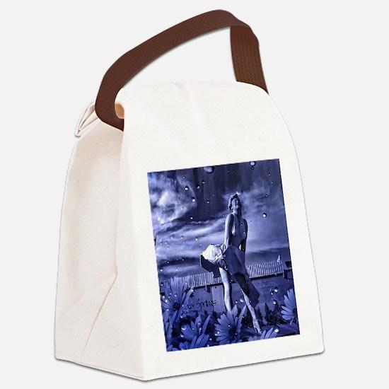 Marilyn Monroe in Palm Springs Canvas Lunch Bag